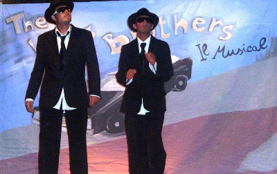 THE BLUES BROTHERS AL POKER